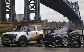 Picture bridge, concept, jeep, SUV, the concept, convertible, land rover, range rover, convertible, and, crossover, Ewok, …