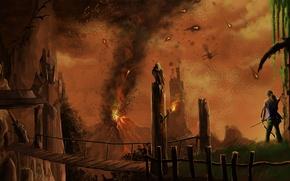 Picture Bow, Weapons, Tomb Raider, Lara Croft, Game, Lara Croft, 2013