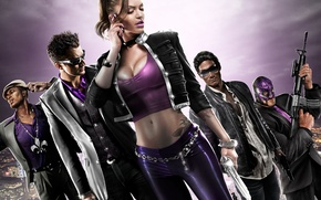 Picture saints, Johny Gat, Saints Row: The Third, shaundi