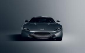 Picture Concept, Aston Martin, Front, James Bond, Silver, Unique, DB10