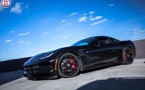 Picture Corvette, Chevrolet, HRE, P101