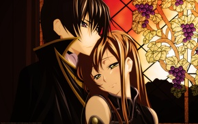 Picture anime, art, pair, Code Geass