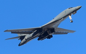 Picture weapons, the plane, B-1B