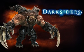 Picture monster, claws, wrath of war, darksiders
