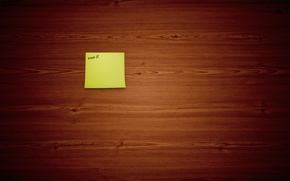 Picture background, the inscription, Wallpaper, Board, minimalism, art, note, wood