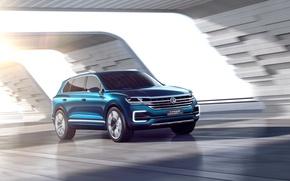 Picture Concept, Volkswagen, the concept, Volkswagen, crossover, GTE, T-Prime