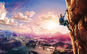 Picture Nintendo, Game, Link, The Legend Of Zelda: Breath Of The Wild