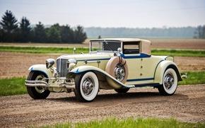 Wallpaper Convertible, 1930, Cord, convertible, cord