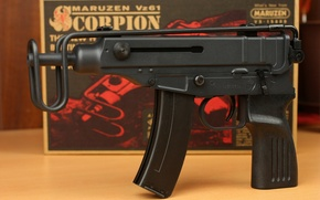 "Picture weapons, the gun, ""Scorpio"", Czech, Vz. 61"