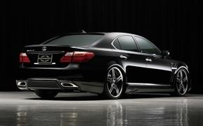 Picture black, Lexus, LS460