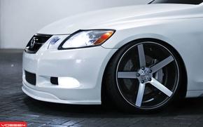 Picture Lexus, White, Vossen
