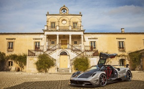 Picture Pagani, mansion, open door, To huayr, 2016