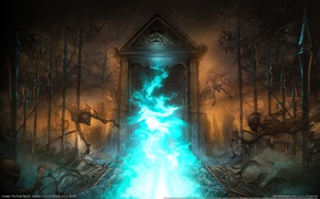Wallpaper lineage, the portal, the cross rancor, ghosts, the gates