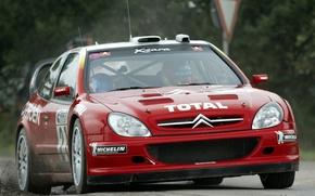 Picture Citroen, Citroen, Loeb, WRC, Rally, Rally, Xsara, Ksara