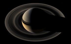 Picture photo, planet, ring, Saturn, orbit, Saturn, NASA, Cassini, Cassini