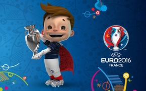 Picture football, talisman, EURO 2016