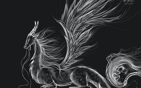 Picture dragon, figure, 2012