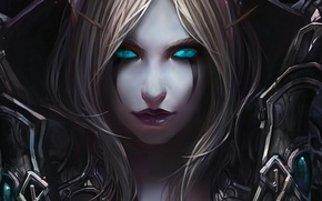 Picture WoW, character, dire, Sulvanas Windrunner