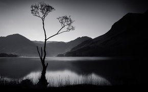 Picture lake, Lake District, Buttermere