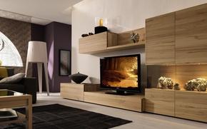 Picture design, style, interior, best modern room