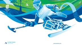 Picture Vancouver, Olympics 2010, Alpine skiing