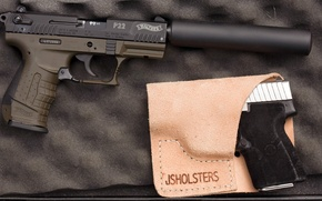 Picture holster, Walther, P22, Carl Walther Sportwaffen GmbH, the German sports-training semi-automatic pistol