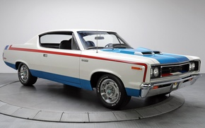 Picture auto, muscle car, muscle car, AMC, Rebel, The Machine