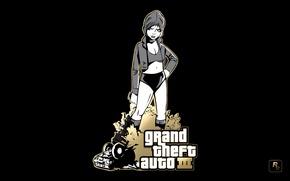 Picture Girl, GTA, Rockstar, Game, III, Grand Theft Auto III
