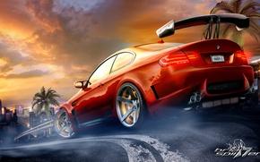 Picture figure, photoshop, bmw, BMW, e92