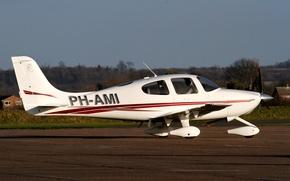 Picture the plane, easy, American, multipurpose, Cirrus, SR20