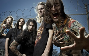 Picture Music, Group, Deathcore, Suicide Silence