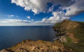 Picture sea, clouds, coast, Bay, South Australia, South Australia, the Fleurieu Peninsula, the Gulf of Yankalilla, …