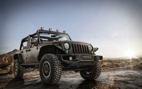 Picture landscape, jeep, SUV, Jeep