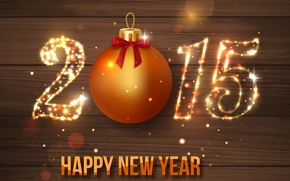 Picture New Year, gold, New Year, Happy, sparkle, 2015