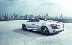 Picture Audi, The city, Machine, Car