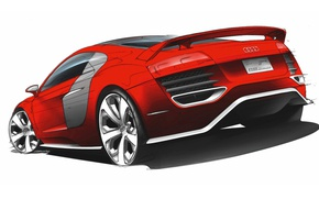 Picture Audi, coupe, R8