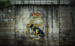 Picture logo, football, Real Madrid, blancos