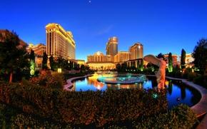 Wallpaper Las Vegas, entertainment complex, Caesars Palace