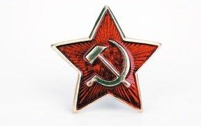 Picture star, victory day, USSR, the hammer and sickle