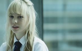 Picture girl, blonde hair, Adelaide Clemens