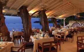 Picture design, style, interior, restaurant, terrace
