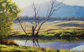 Picture ART, FIGURE, ARTSAUS, FISH RIVER TARANA