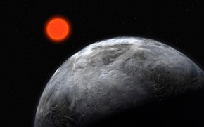 Picture red, star, planet, dwarf
