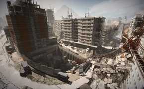 Picture game, war, Battlefield 3, shooter, the epicenter