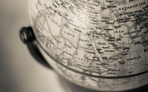 Picture macro, earth, globe