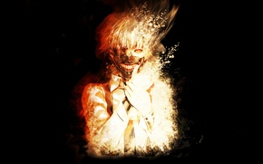 Picture art, art, Tokyo Ghoul, Ken Kanek, Tokyo Ghoul