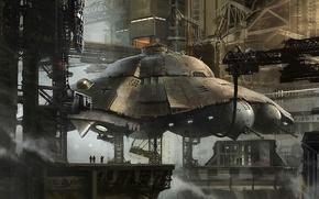 Picture UFO, new schwabia, war