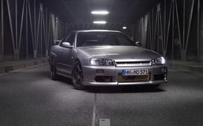 Picture Nissan, GTT, Skyline. R34