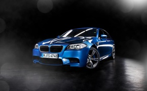 Picture BMW, Car, Blue, Studio, Powerful, Ligth