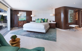 Picture design, style, bed, pillow, Design, bedroom, Interior, Bedroom